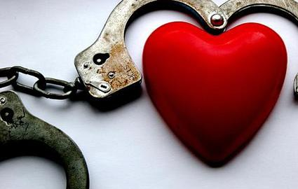 heart in cuffs