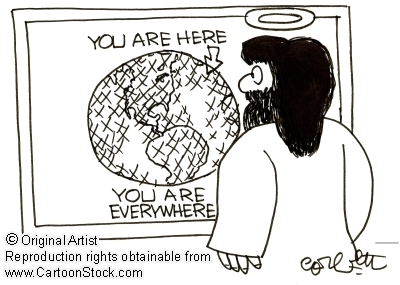 Jesus is Everywhere Map